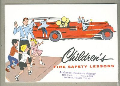 Children's Fire Safety Lessons (1956) #1956 NM- 9.2