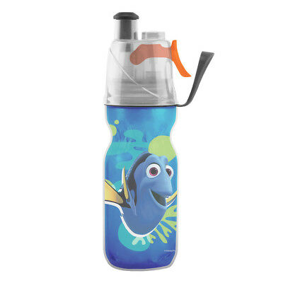 02Cool Insulated Mist N Sip Squeeze Water Bottle 12 oz. Finding Nemo DORY DISNEY
