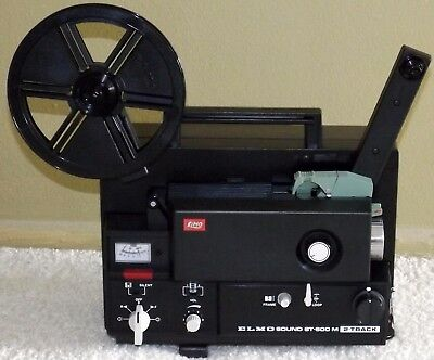 ELMO ST-600M Super 8 Sound Film / Movie Projector. Modified & Tested