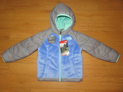 NWT Toddler Girl's The North Face Reversible Perseus Jacket (Retail $80.00)