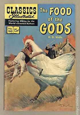 Classics Illustrated 160 The Food of the Gods (1961) #1B VG 4.0