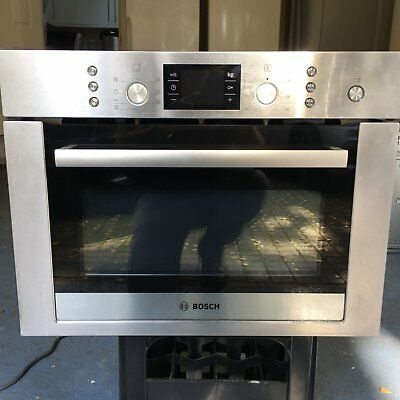 Bosch Built-in Combination Oven in Stainless Steel