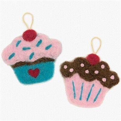 Dimensions Try Needle Felting Kit - Cupcake - D7273909