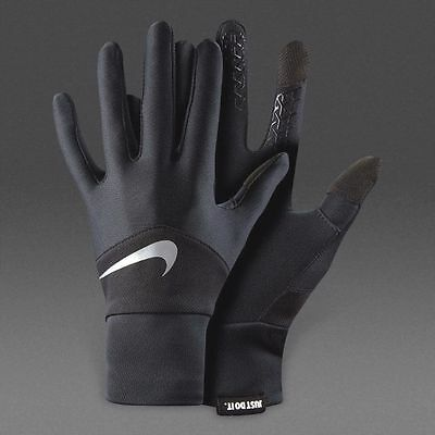 Running Gloves - Nike Mens Dri Fit Tempo Gloves - Fitness Touchscreen Thumb