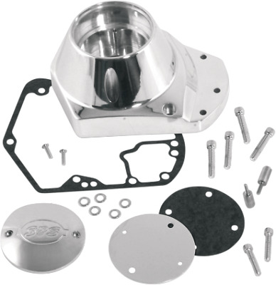 S&S Cycle Billet Cam Cover Kit Fits 2000 Harley-Davidson Super Glide CVO FXR4