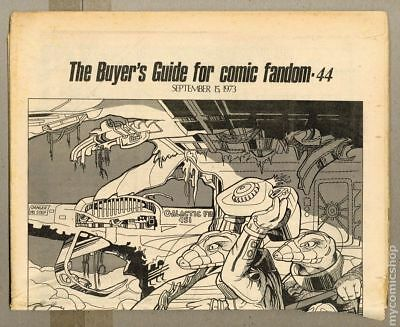 Comics Buyer's Guide (1971) #44 FN- 5.5