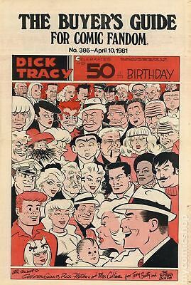 Comics Buyer's Guide (1971) #386 FN/VF 7.0