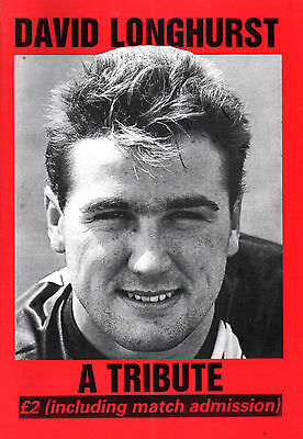 1990/91 Corby Town v Kettering Town, David Longhurst Tribute, PERFECT CONDITION