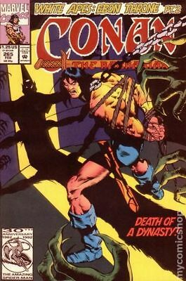 Conan the Barbarian (1970 Marvel) #265 FN