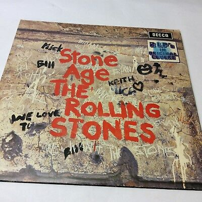 The Rolling Stones 'Stone Age/Got Live If You Want It' Double Vinyl LP EX/VG+!!