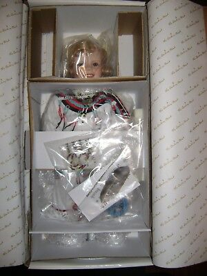 """The Little Peacemaker Shirley Temple Porcelain Collector Doll New w/COA 18"""" RARE"""
