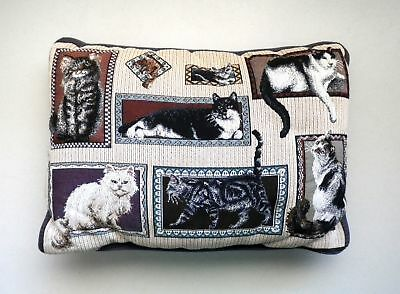 Kitty CAT TAPESTRY Decorative THROW PILLOW