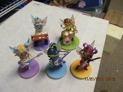 Jasmine & The Flaming Pixies Collection of 5 Figurines Jasmine Becket-Griffith