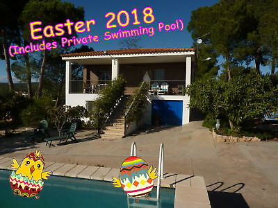 Valencia Spain - Easter 2018 - Holiday Apartment + Private Pool In Country Villa