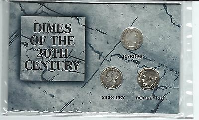 UNITED STATES - DIMES OF THE 20th CENTURY, THE MORGAN MINT IN SEALED PACK