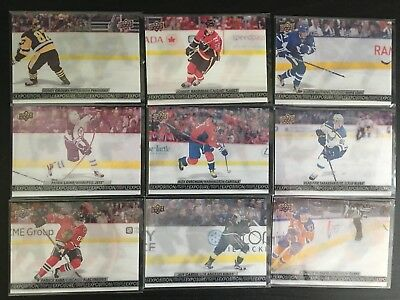 Ud 2017/18 Tim Hortons Hockey Cards To Finish Your Set Base Top Gda Sm Pp Ccp Te