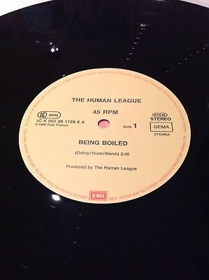 The Human League Being Boiled VG