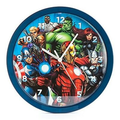 Marvel Avengers 10 Inch Analogue Wall Clock, Mar18 - Clock 10 New Official Iron