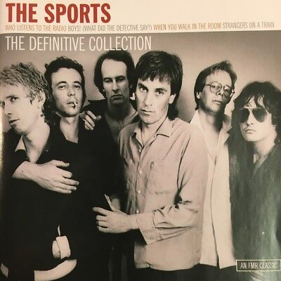 THE SPORTS - The Definitive Collection Rare 2CD Album Set
