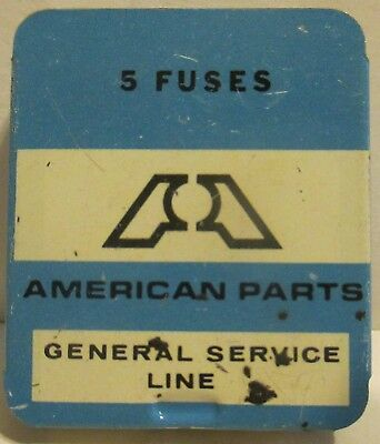 American Parts Fuse Tin With 5 Fuses
