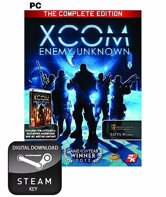 Xcom Enemy Unknown The Complete Edition Pack Pc, Mac And Linux Steam Key