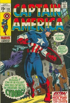 Captain America (1968 1st Series) #124 VG+ 4.5