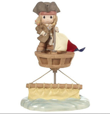Jack Sparrow Precious Moments Figurine Pirates Caribbean I'd Be Sunk Without You