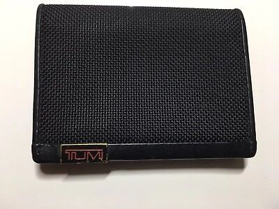 Tumi Alpha Gusseted Business Card Credit Card / ID Case