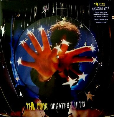 THE CURE Greatest Hits - 2LP / Picture Vinyl - Limited + DL - RSD 2017