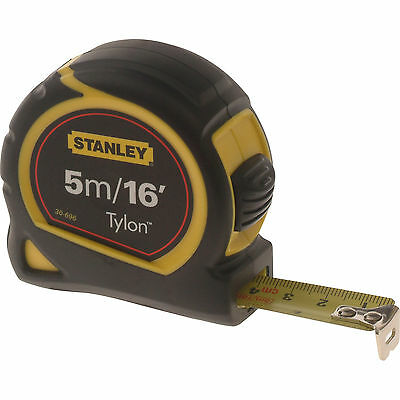 Stanley Tylon Pocket Tape Measure Imperial & Metric 16ft / 5m 19mm