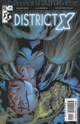 District X (2004) #12 FN