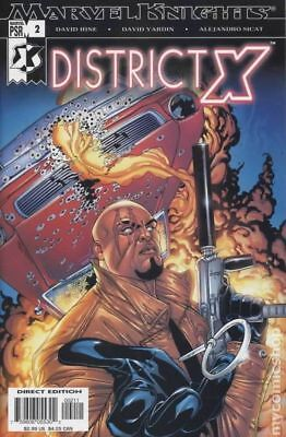 District X (2004) #2 FN