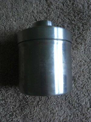 Simmon Omega Quick-Fill Stainless Steel Film Developing Tank Two 35mm Reels