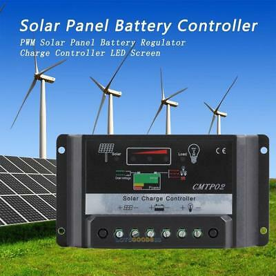 30A 12/24V Regulator with Inverter Solar Battery Charge Discharge Controller