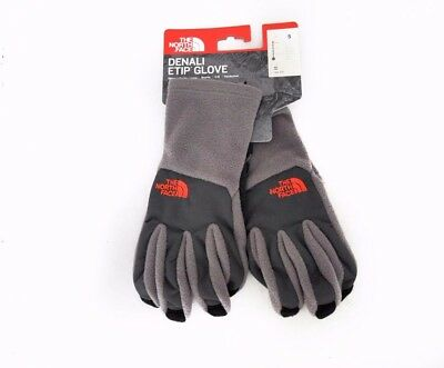 The North Face Men's Denali Etip Glove in Falcon Brown Asphalt Grey Size S,M,L