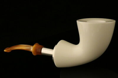 IMP Meerschaum Pipe - Cardinal - Hand Carved in a fitted CASE I1367