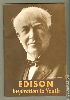 Edison Inspiration to Youth (1939) #1962 FN+ 6.5