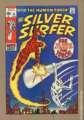 Silver Surfer (1968 1st Series) #15 VG+ 4.5