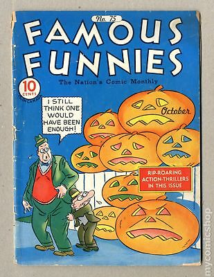 Famous Funnies (1934) #75 FR 1.0