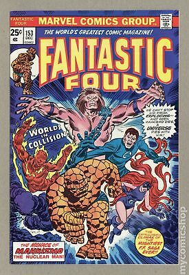 Fantastic Four (1961 1st Series) #153 VF 8.0