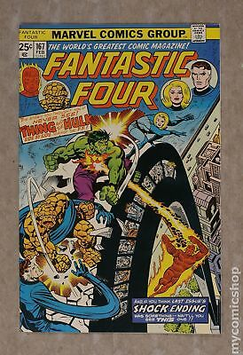 Fantastic Four (1961 1st Series) #167 VF 8.0