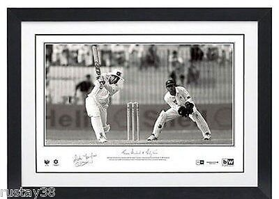 Mark Taylor Hand Signed Limited Edition 334 Print Certificate Bradman