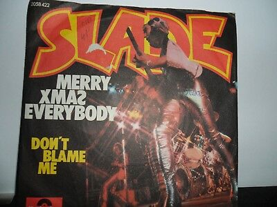 "Slade.merry Xmas Everybody.german Polydor.7"" Vinyl Single.45Rpm"