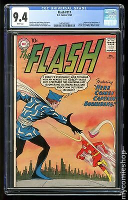 Flash (1959 1st Series DC) #117 CGC 9.4 1465483002