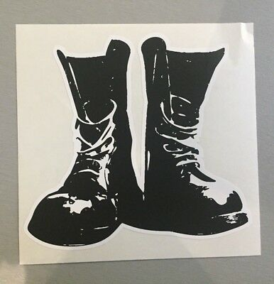 New unused Skinhead Vinyl Sticker boots dims ska scootering mod 12x11cm punk oi