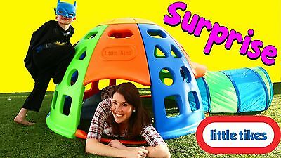 Little Tikes Tunnel And Dome Climber New In Box