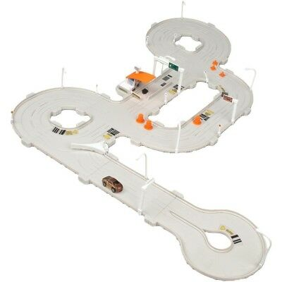 Tagamoto City Road Set - Code Cars Track Real Lights Sounds Motorized Toll