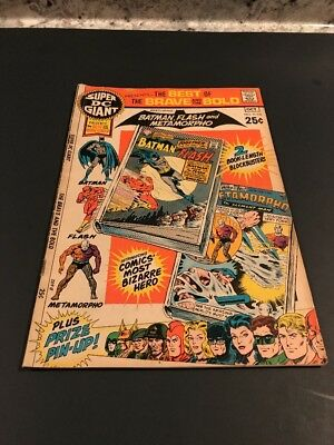 SUPER DC GIANT # S-16 - DC COMICS  1970 Best Of Brave And The Bold