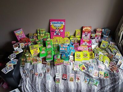 Garbage Pail Kids Huge Bundle ANS BNS OS Bonus Scratch n Stink Gold Graded