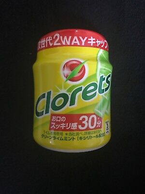 Japanese Clorets Chewing Gum Green lime Mint 150g 1,3,5pack free shipping!